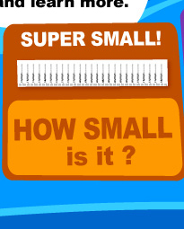 HOW SMALL IS IT?